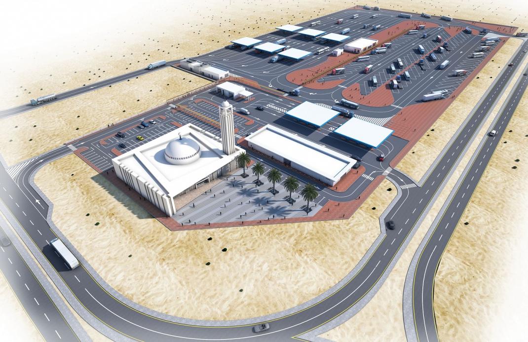 KIZAD Truck Plaza Project