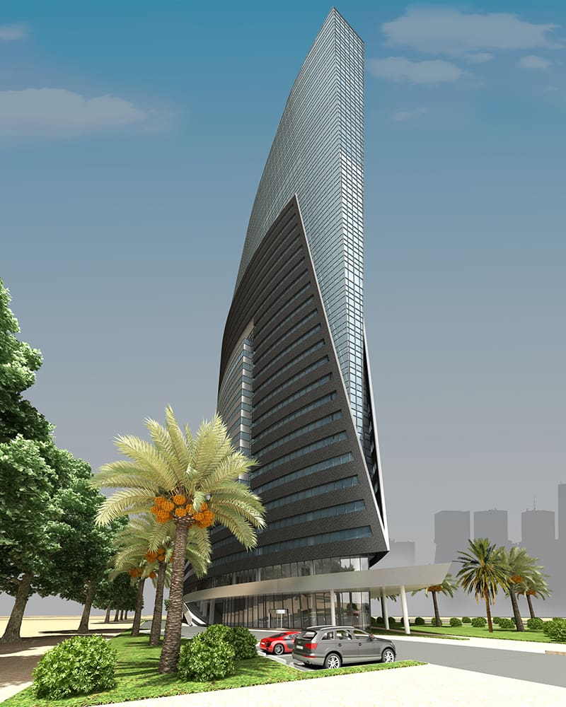 Marina Mix-20 Office Building Project - Lusail1