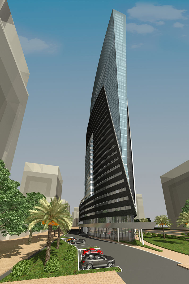 Marina Mix-20 Office Building Project - Lusail