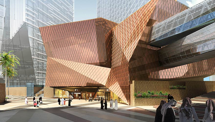 Science Museum & Geo-Climate Center Project - King Abdullah Financial District