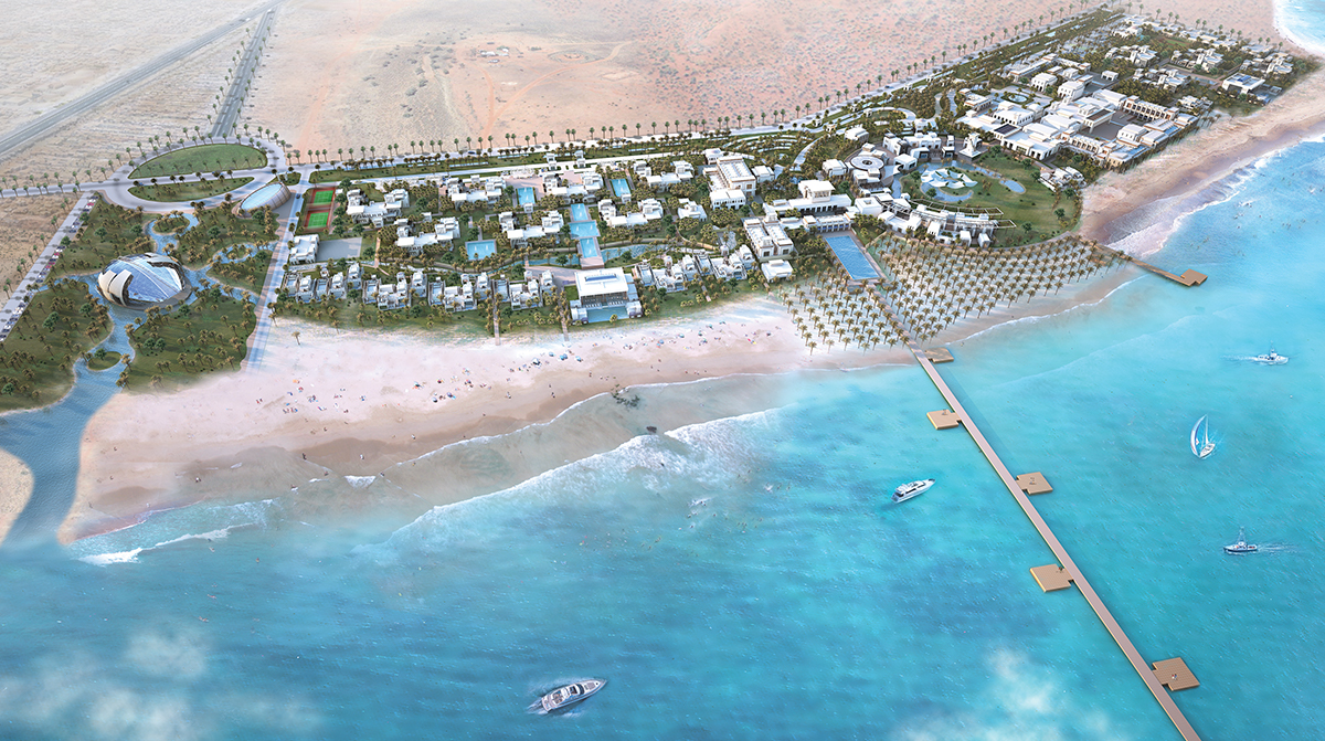 Zulal Destination Spa & Family Resort Project