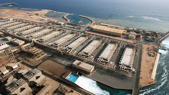 Doha Seawater RO Desalination Plant Project - Phase 1