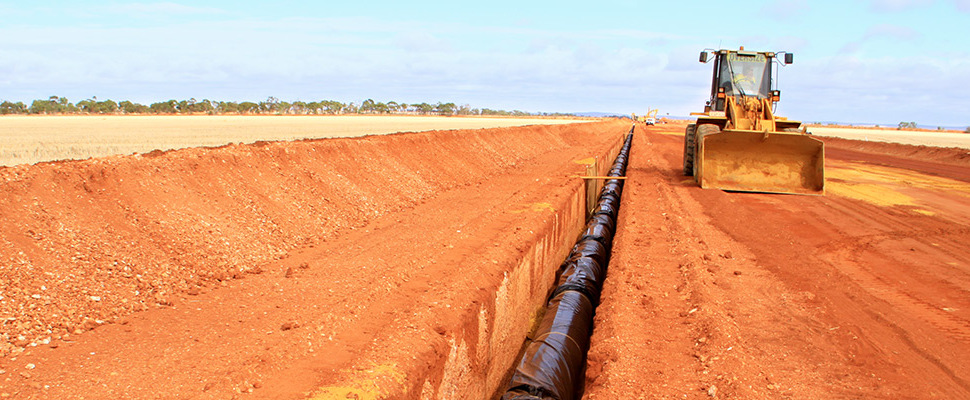 DI Transmission Pipelines Installation Project