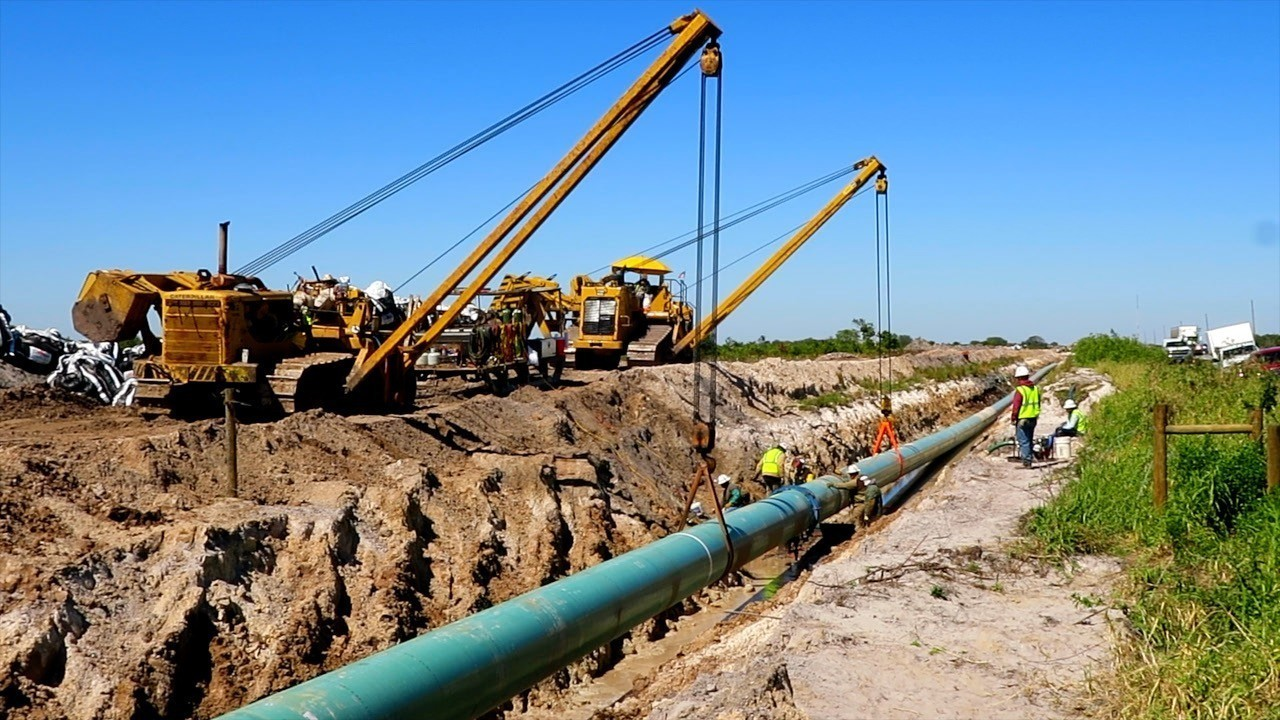 DI Transmission Pipelines Installation Project1