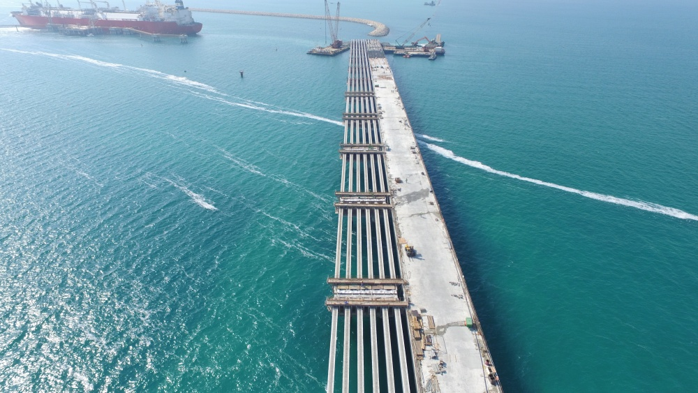 Terminal 4 Construction Project - Jebel Ali Port1