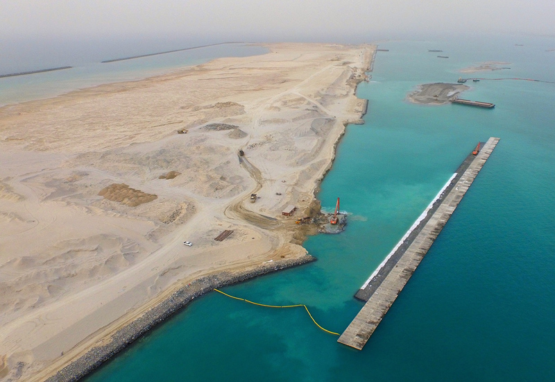 Terminal 4 Construction Project - Jebel Ali Port3