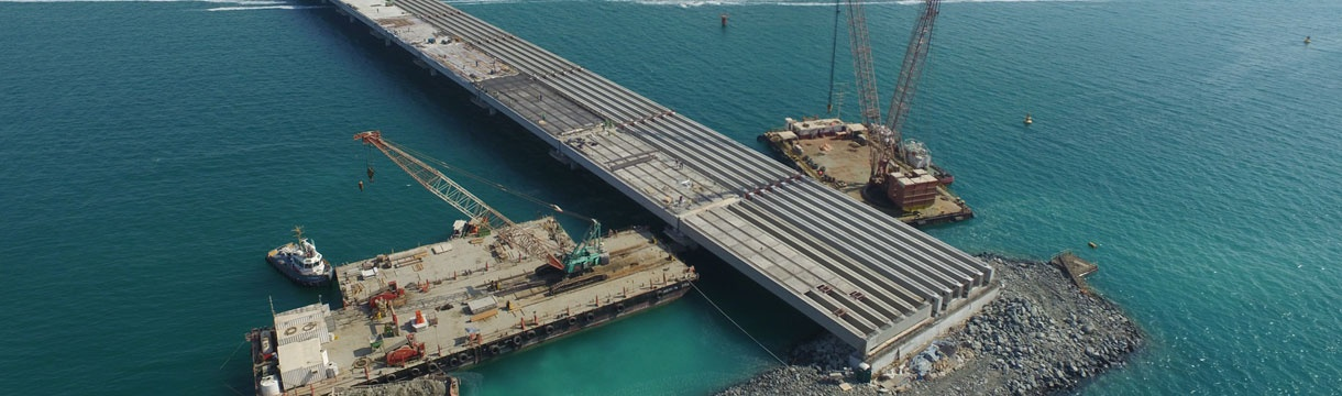 Terminal 4 Construction Project - Jebel Ali Port