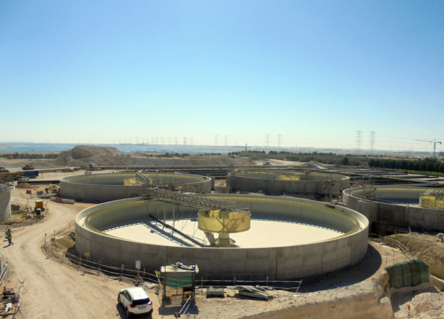 Al-Shamal Sewage Treatment Plant Project