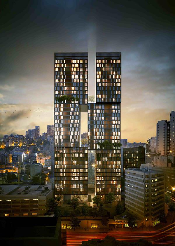 Ciel Et Jardin Tower Project