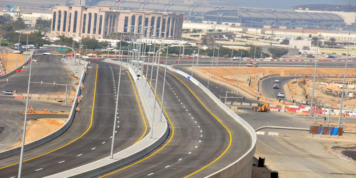 Road Dualization Project - LNG Roundabout to Bilad Sur Roundabout1