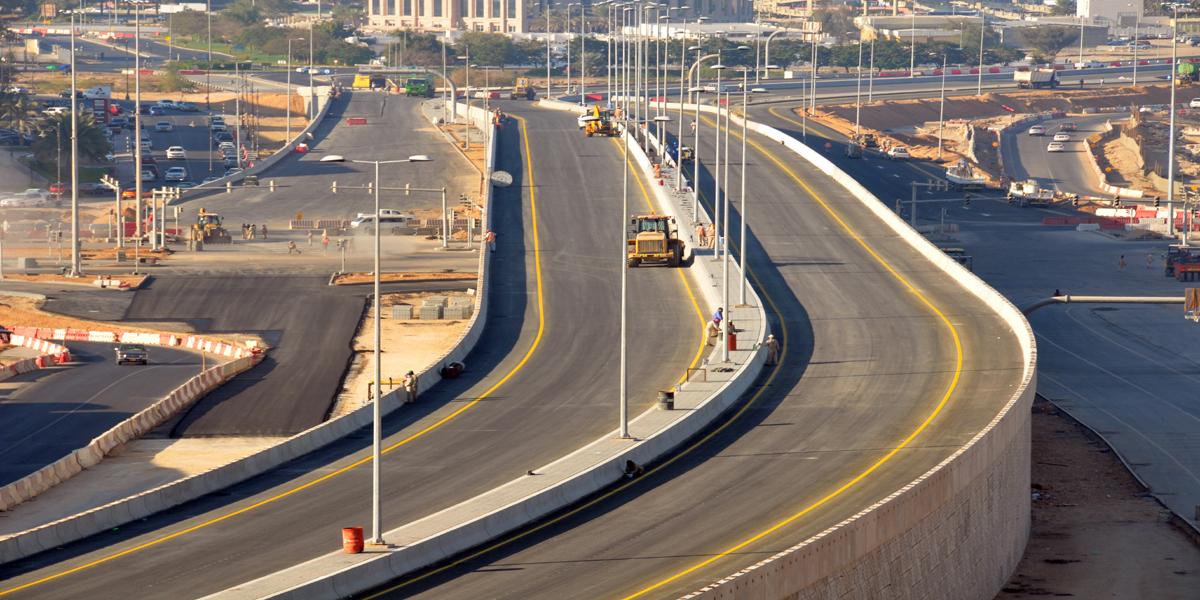 Road Dualization Project - LNG Roundabout to Bilad Sur Roundabout