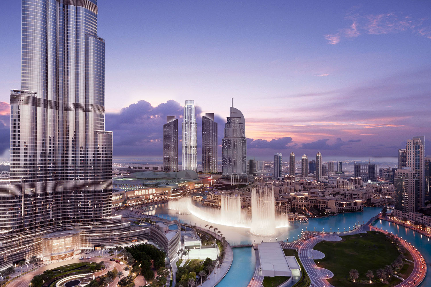 The Address Residence Fountain Views Tower Project - Downtown Dubai