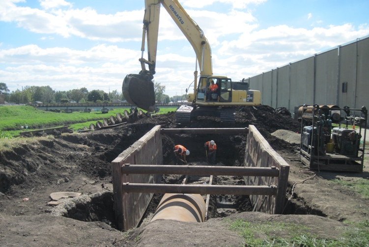 Pumping Station & Interceptor Sewer Construction Project