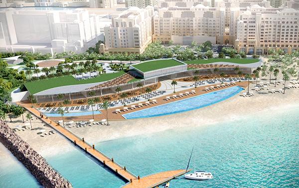 Palm West Beach Construction Project - Palm Jumeirah