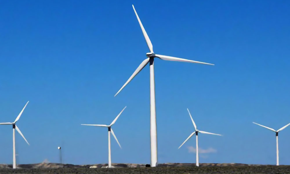 Wind Farm Construction Project