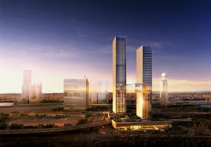 One Zabeel Tower Project - Dubai World Trade Center Area1