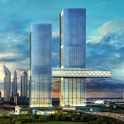 One Zabeel Tower Project - Dubai World Trade Center Area2