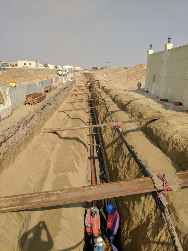 Sewerage & Drainage Network Project - Nad Al Sheba 4