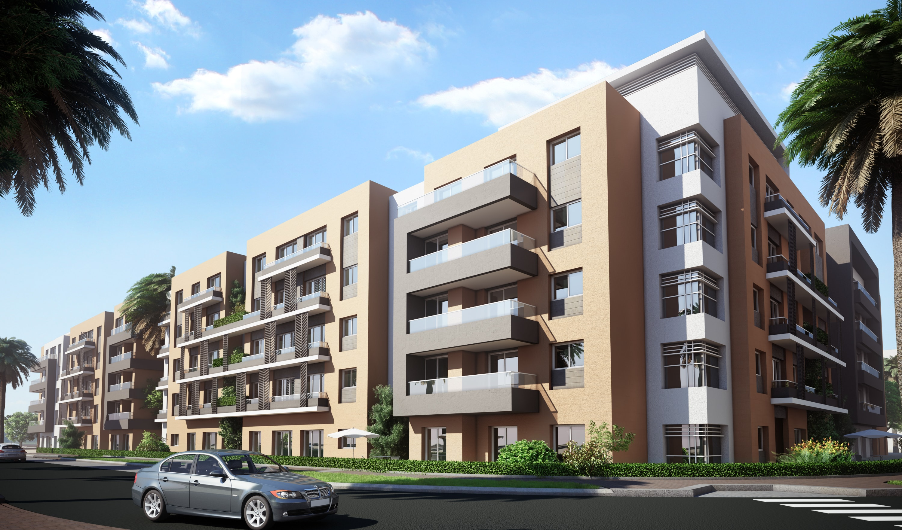 Dara Residential Apartments Project - Lusail Development Area