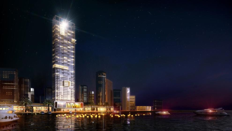 Anwa Residential Tower Project - Dubai Maritime City