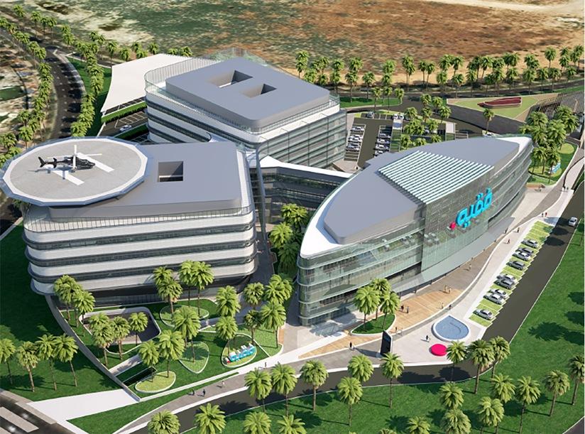 Fakeeh Academic Medical Center Project - Dubai Silicon Oasis