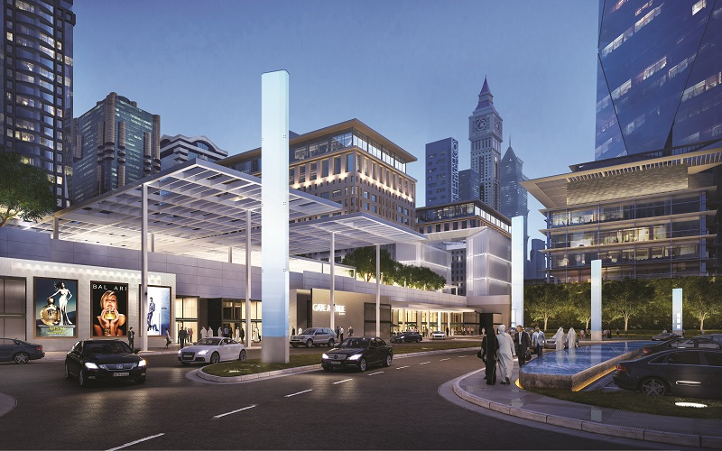 Gate Avenue Retail District Project - Dubai International Financial Center1