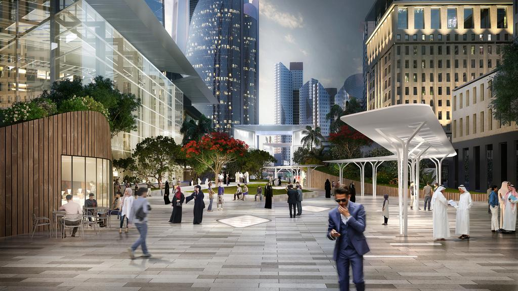 Gate Avenue Retail District Project - Dubai International Financial Center2