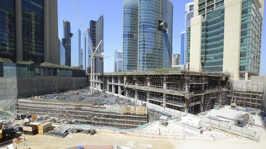 Gate Avenue Retail District Project - Dubai International Financial Center