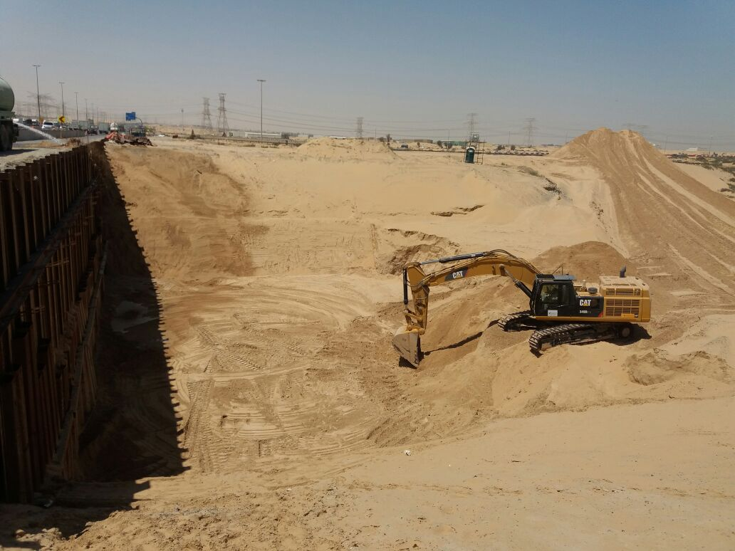 Al Badee Interchange Improvement & Upgrade Project1