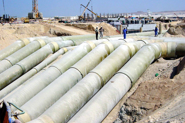 Pipe Manufacturing Facility Project - Khalifa Industrial Zone Abu Dhabi