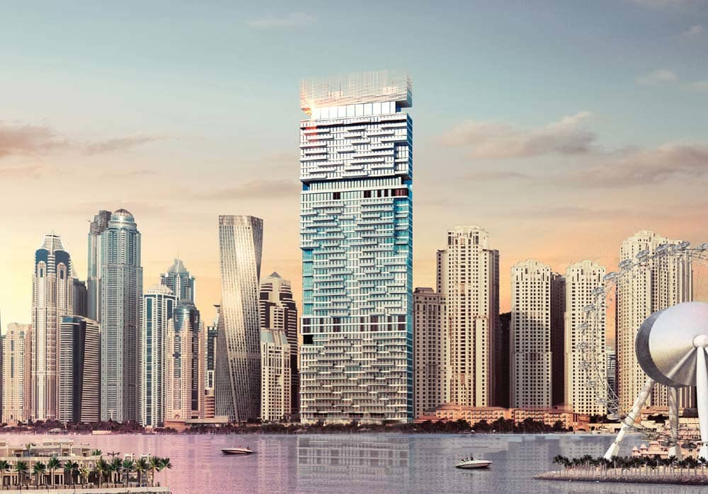 One Jumeirah Beach Residence Tower Project