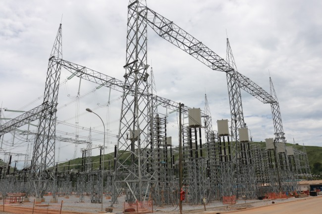 High Voltage Transmission Lines Construction Project