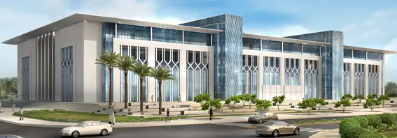 College of Law Building Construction Project - Qatar University Expansion