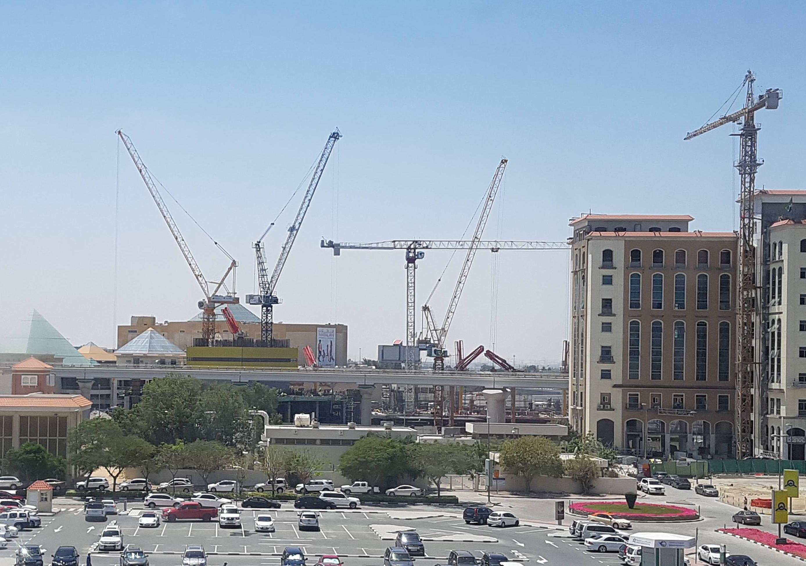 Wafi Hotel & Mall Access Bridge Project - Umm Hurair 21