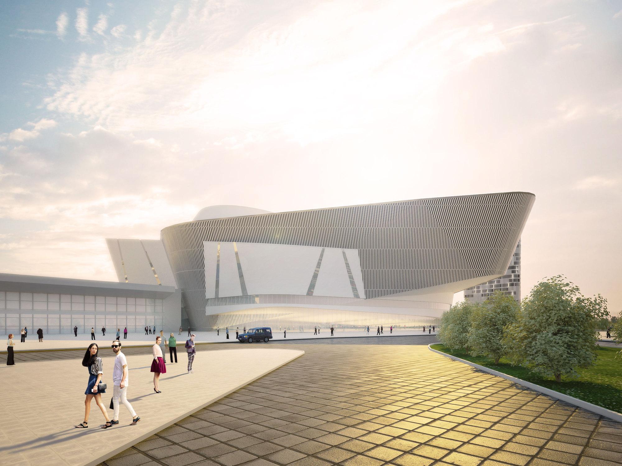 Al Ahmadi Cultural Center Project1