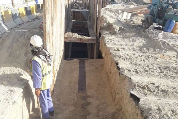Muqaba Sewerage Network Project