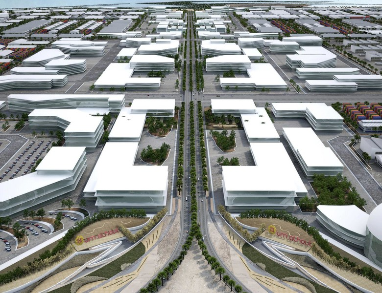Roads and Infrastructure Construction - Qatar Economic Zone 32