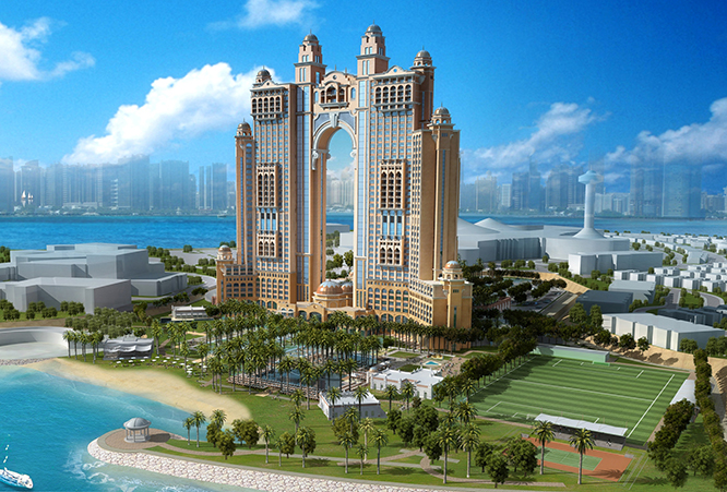 Fairmont Hotel & Serviced Apartments Project