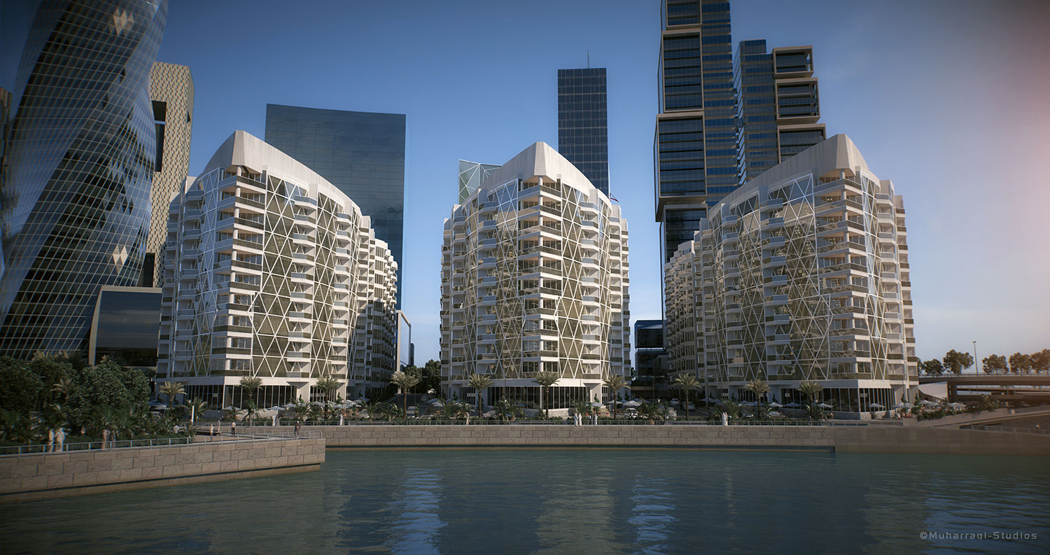 Waterbay Tower Project - Bahrain Bay2