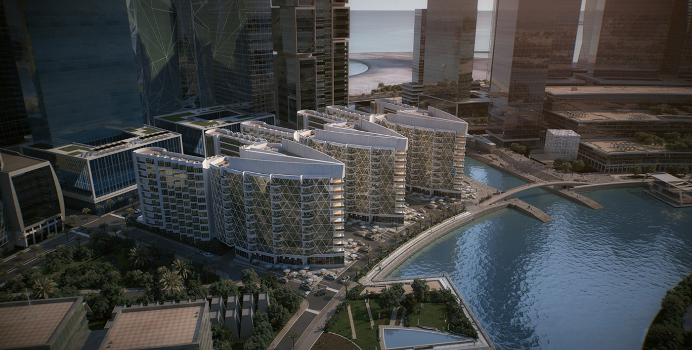 Waterbay Tower Project - Bahrain Bay