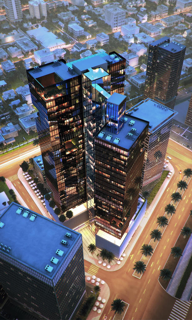 Millennium Place Hotel Project - Jumeirah Village Triangle