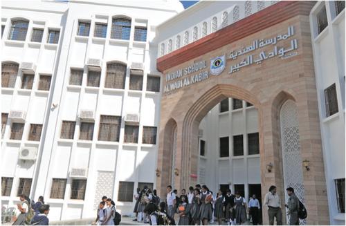 Indian School Al Awabi Construction Project
