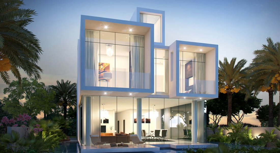 Sanctnary Villas Project - Damac Hills1