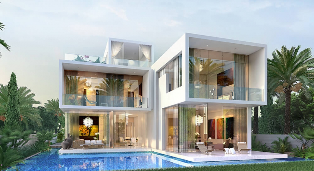 Sanctnary Villas Project - Damac Hills0