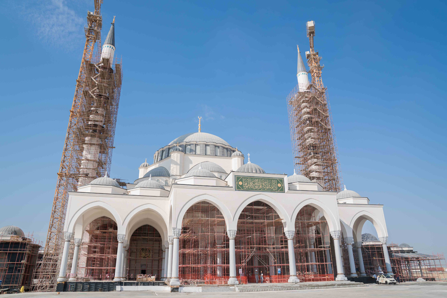 Mosque Construction Project - International City