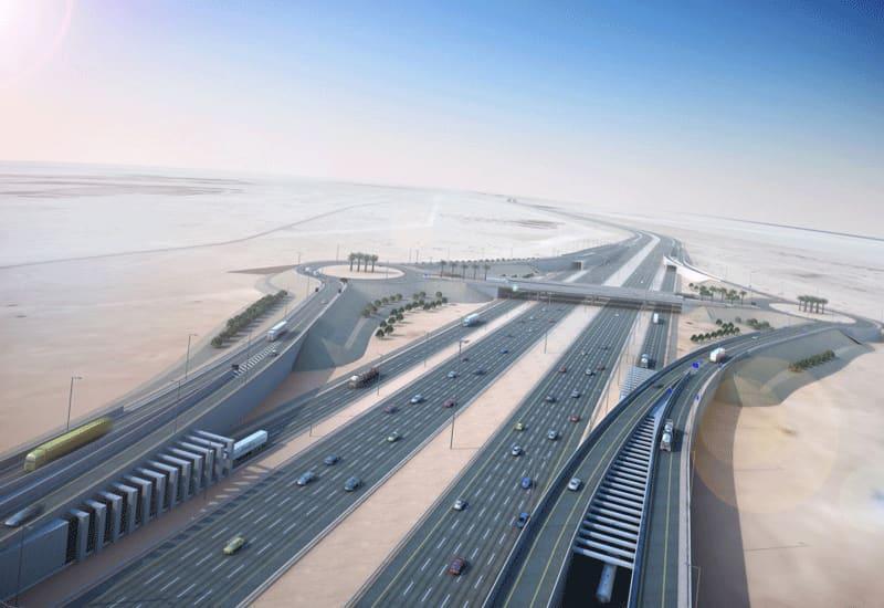 E-Ring Road Expressway Extension (North/South Link P008-C2) - Sabah Al Ahmad Corridor (Contract 1)