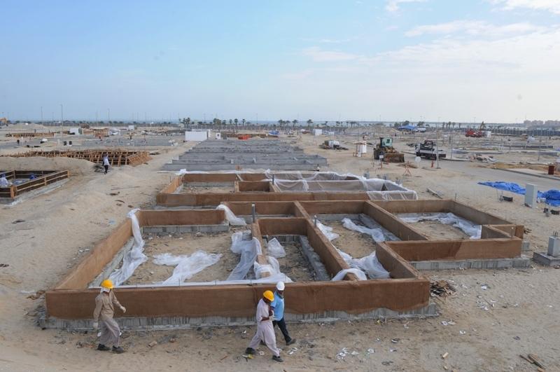 Villas Construction Project - Jubail Industrial City1