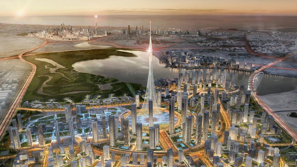 Infrastructure Construction Project - Dubai Creek Harbour Development1