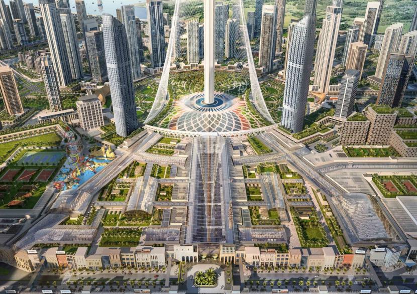Infrastructure Construction Project - Dubai Creek Harbour Development2