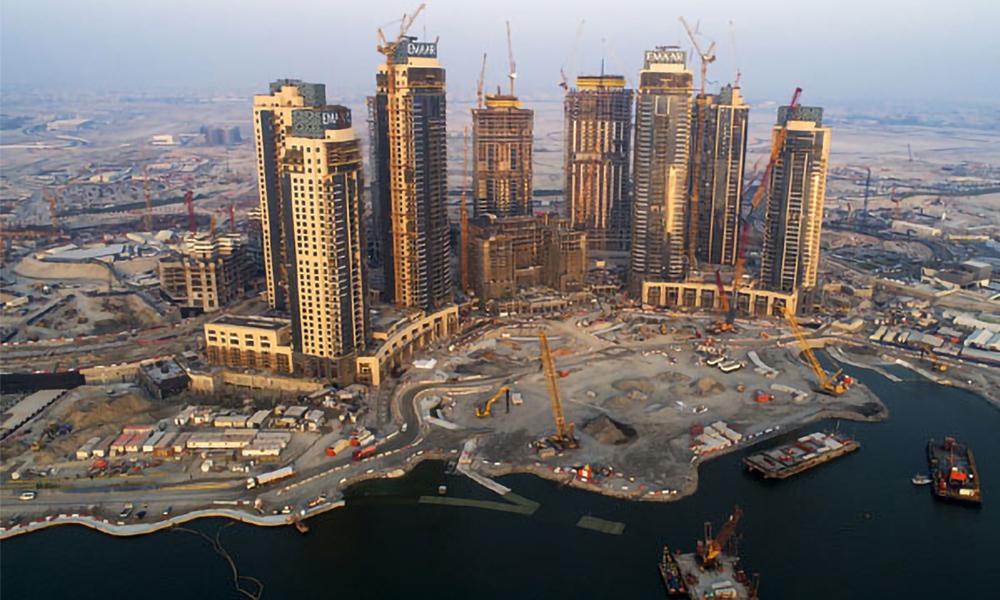 Infrastructure Construction Project - Dubai Creek Harbour Development